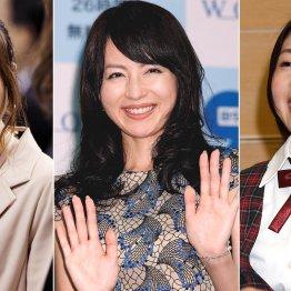 (左から)紺野あさ美、平井理央、市來玲奈