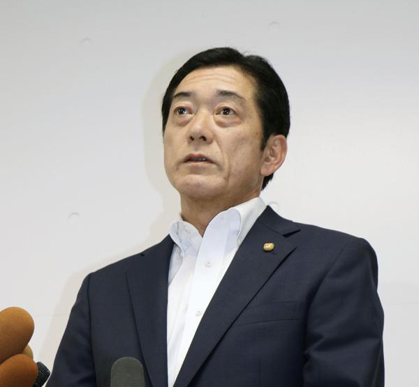 愛媛県の中村時広知事(C)共同通信社