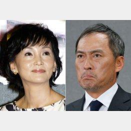 離婚に合意した南果歩と渡辺謙(C)日刊ゲンダイ