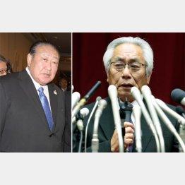 実権を握るのは田中理事長(左)/(C)日刊ゲンダイ