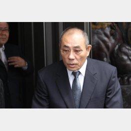井上邦雄組長は神戸山口組の組長に専念(C)日刊ゲンダイ
