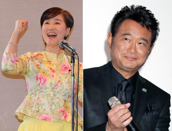 松居一代(左)と船越英一郎(C)日刊ゲンダイ