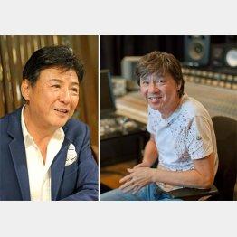 西城秀樹さんの思い出を語る江木俊夫さん(左)/(C)日刊ゲンダイ