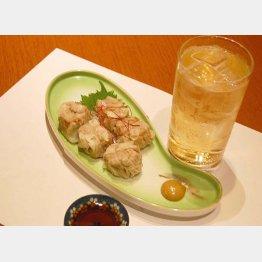 合う酒=ハイボール(C)日刊ゲンダイ