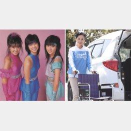 現役時代(右から岩間さん、鈴木幸恵さん、濵田のり子さん)(C)日刊ゲンダイ