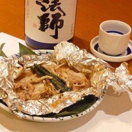 【イカゴロ(内蔵)豚のホイル焼き】万能調味料を使った野趣溢れる一品