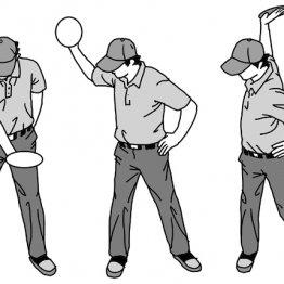 """ドライバーは""""出前持ち""""の形がボールのつかまりをよくする"""