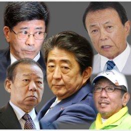 首相を守るためならなんでもアリ(C)日刊ゲンダイ
