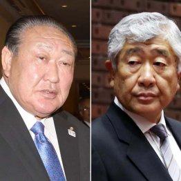田中理事長と内田前監督