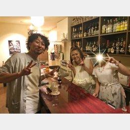 今夜のナビゲーターはイシバシハザマの石橋尊久(左)/(提供写真)