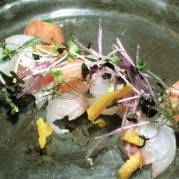 Amuni(和歌山) 活け締めの天然魚をイタリアンで