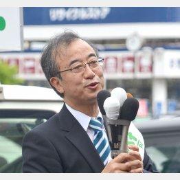 与党を背負っている(花角氏)/(C)日刊ゲンダイ