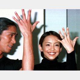 安室奈美恵は20歳で結婚(C)日刊ゲンダイ