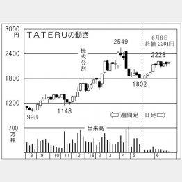 TATERU(C)日刊ゲンダイ