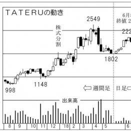 ITと不動産の融合で事業拡大 「TATERU」は株価長期上昇中