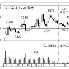 高シェア製品を持つ実力企業「KHネオケム」に株高の期待