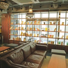 カフェ・サルバドル・ビジネスサロン<上>兜町再興めざして