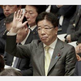 加藤厚労相がシドロモドロの当日にヤラセが(C)日刊ゲンダイ