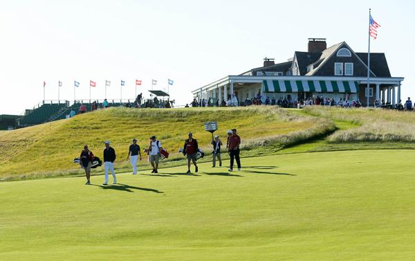 14年ぶりのシネコックヒルズゴルフクラブ(C)ロイター/USA TODAY Sports