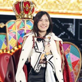 選抜総選挙1位の松井珠理奈