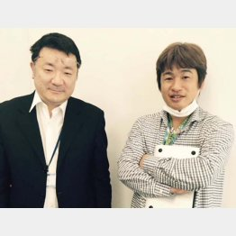 左から吉川氏、川上氏(提供写真)