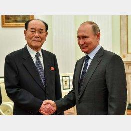 W杯開幕日には北朝鮮の対外ナンバー2と会談(C)ロイター