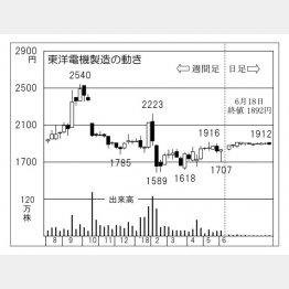 東洋電機製造(C)日刊ゲンダイ