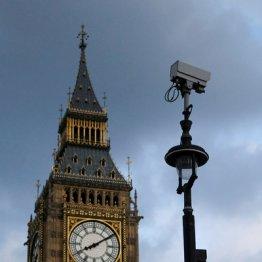 イギリスの監視カメラは600万台 市民は1日300回撮影される