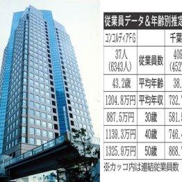 コンコルディアFG×千葉銀行 地銀大手2行の生涯給与を比較