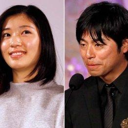 石井裕也監督(右)と結婚した相楽樹はすでに妊娠