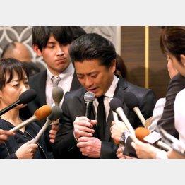 元TOKIO山口達也のように酒で身を滅ぼさない為に(C)日刊ゲンダイ