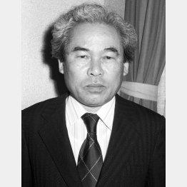 「真夜中の警視」の脚本を担当した新藤兼人(78年撮影)/(C)共同通信社