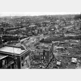 海溝型の関東大震災で内陸も大きな被害(C)共同通信社