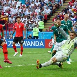 後半48分韓国に先制点を決められたドイツは…