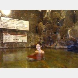 山梨県の下部温泉(提供写真)
