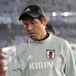 西野監督(C)日刊ゲンダイ