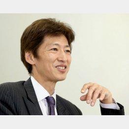 中野晴啓社長(C)日刊ゲンダイ