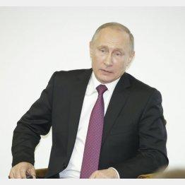 プーチン大統領(C)日刊ゲンダイ