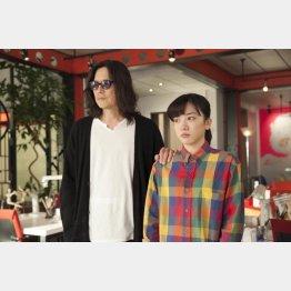 「半分、青い。」第81話のワンシーン(NHKから)
