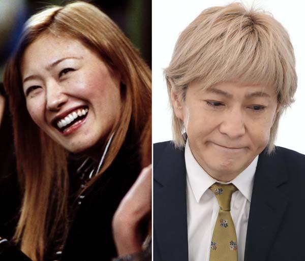 KEIKO(左)と小室哲哉(C)日刊ゲンダイ