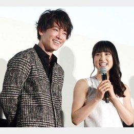 映画「8年越しの花嫁 奇跡の実話」では息の合った夫婦役を演じた(C)日刊ゲンダイ