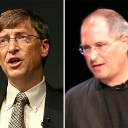 長年ライバルのビル・ゲイツとスティーブ・ジョブズ<後編>