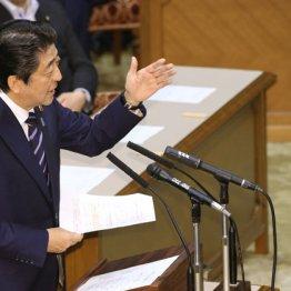党首討論での安倍首相