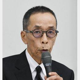 どこか似ている(山内氏)/(C)共同通信社