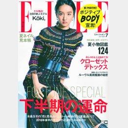 「ELLE JAPON」で衝撃のデビュー