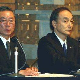 6代目社長の林太郎(左)と櫻井社長(07年)