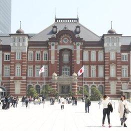東京駅も危ない