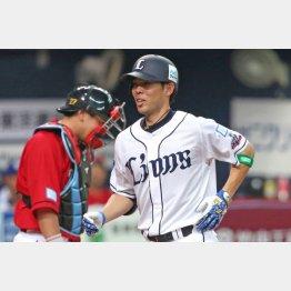 球宴で先頭打者本塁打を打った西武秋山も地方の大学出身(C)日刊ゲンダイ