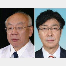 「医科大の習近平」臼田前理事長と佐野前局長(C)共同通信社