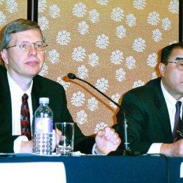 ウォルマートと西友の業務提携会見(2002年当時)